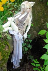 Resting near her den by Umrae-Thara