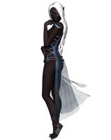drow lady32 - stock by Umrae-Thara