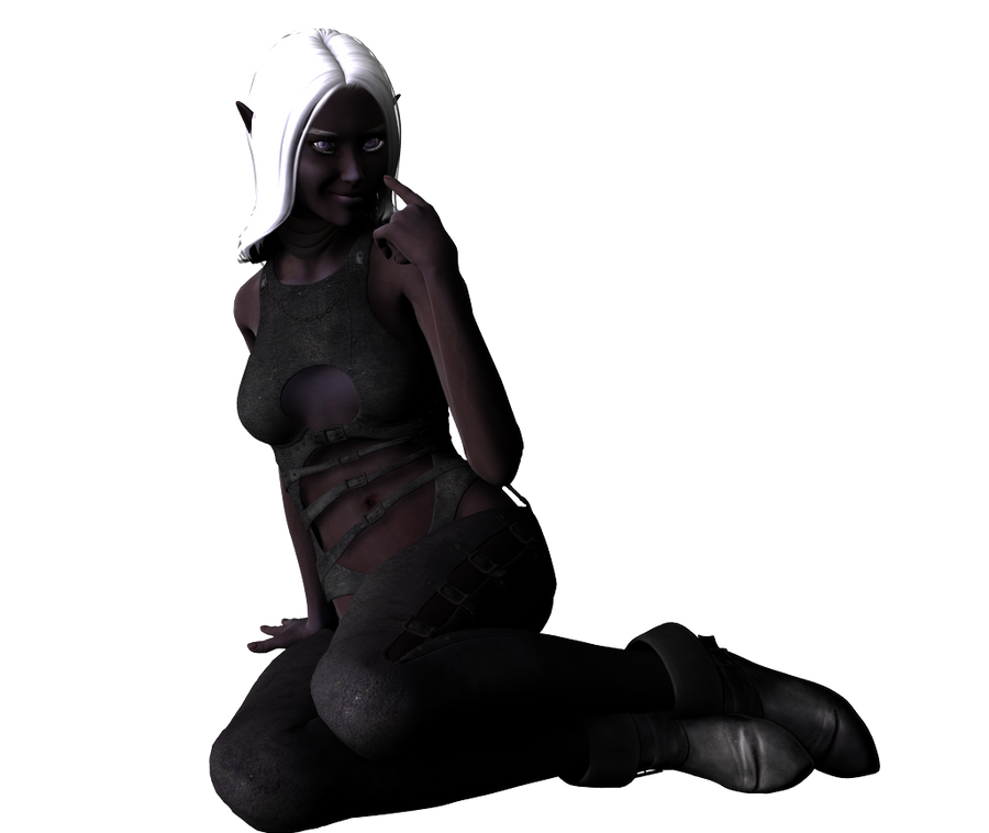drow lady21 - stock