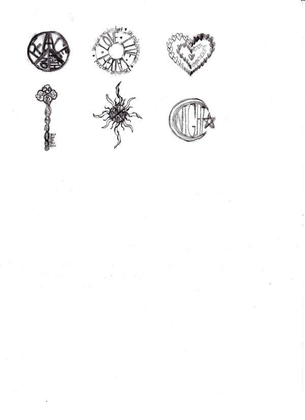 Random Small Tattoo Designs By NesserxD On DeviantArt