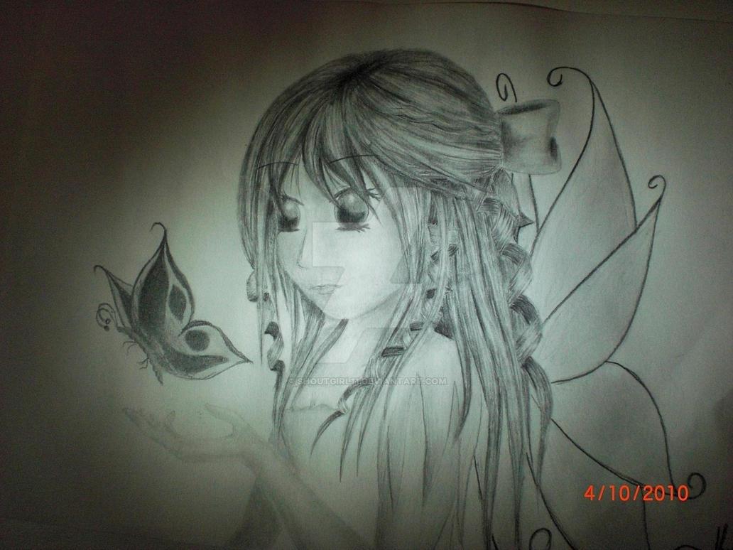 butterfly, fly away by shoutgirl11 on DeviantArt