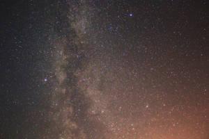 Milky Way Galaxy by moodbringer