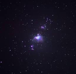 Orion Nebula M42 by moodbringer