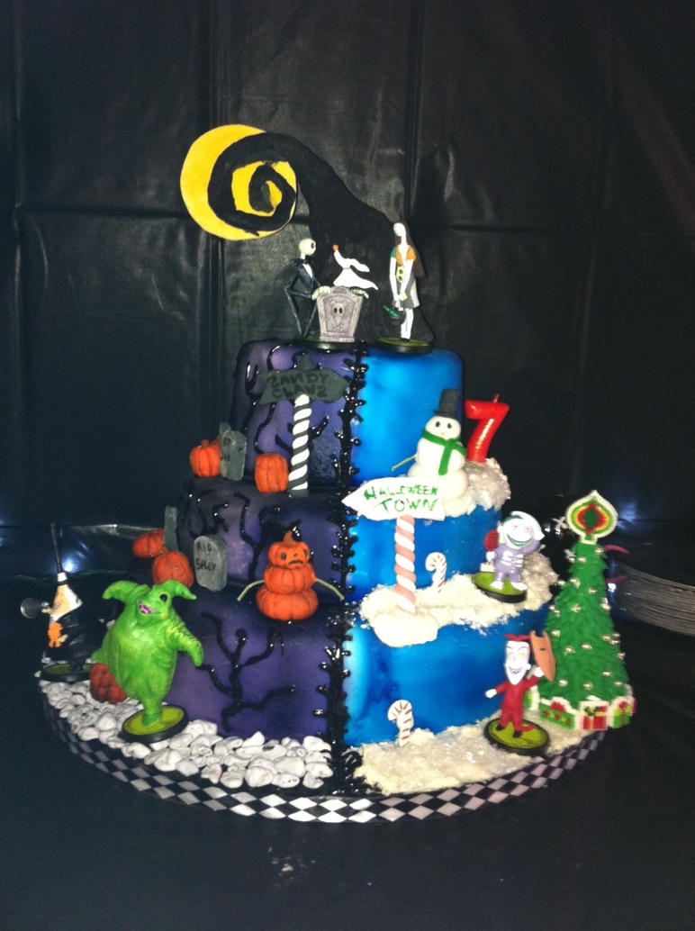 Nightmare Before Christmas Mashup by Janetshomecakery on DeviantArt