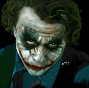 Ledger as the Joker RIP