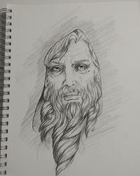 Man Face Sketch 4-15