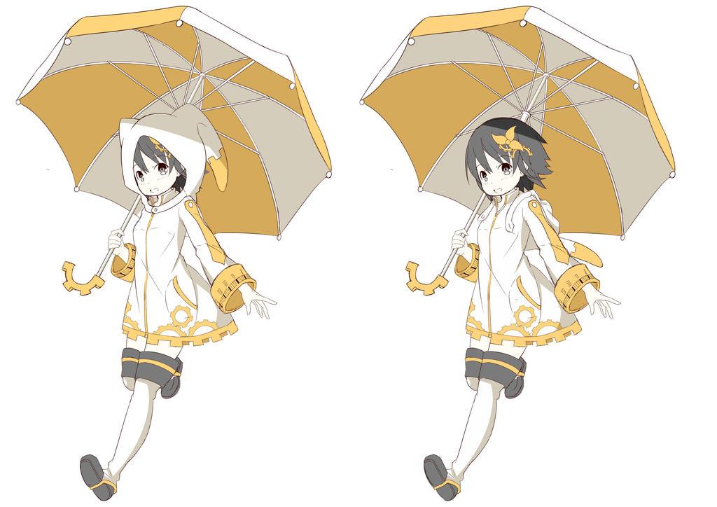Umbrella Girl 2  by saputraD