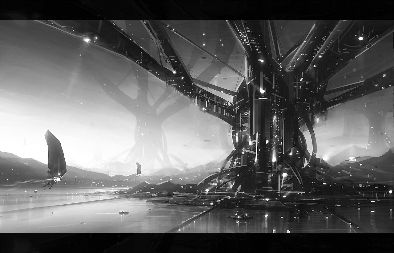 Alien Civilizations by jamajurabaev