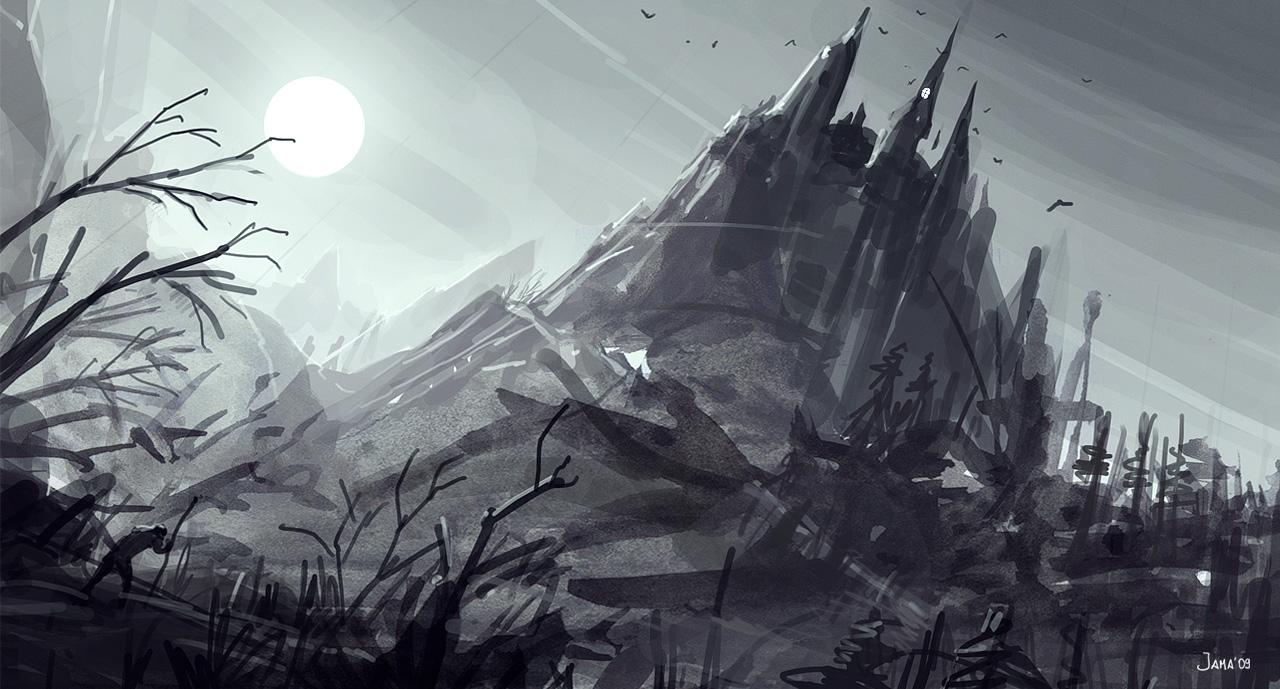 Castle by jamajurabaev