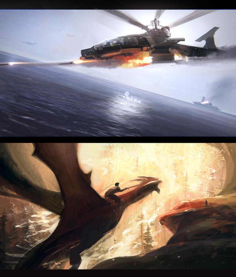Speed paintings 1 by jamajurabaev