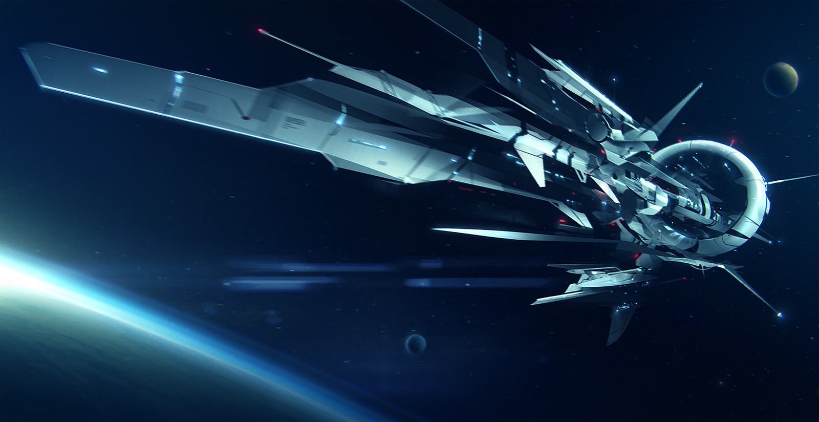 Space journey by jamajurabaev