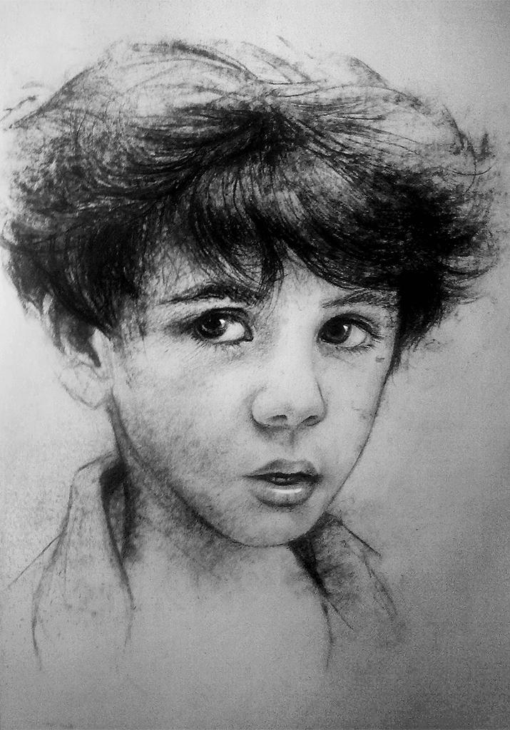 Portrait study by jamajurabaev
