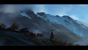 Mountains 1 by jamajurabaev
