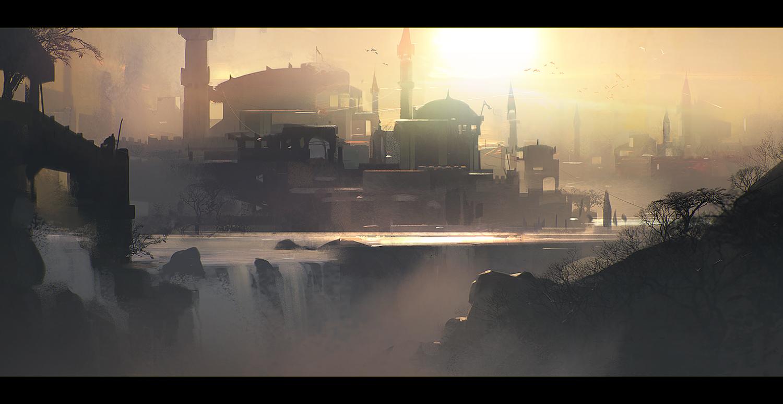 Sunset by jamajurabaev