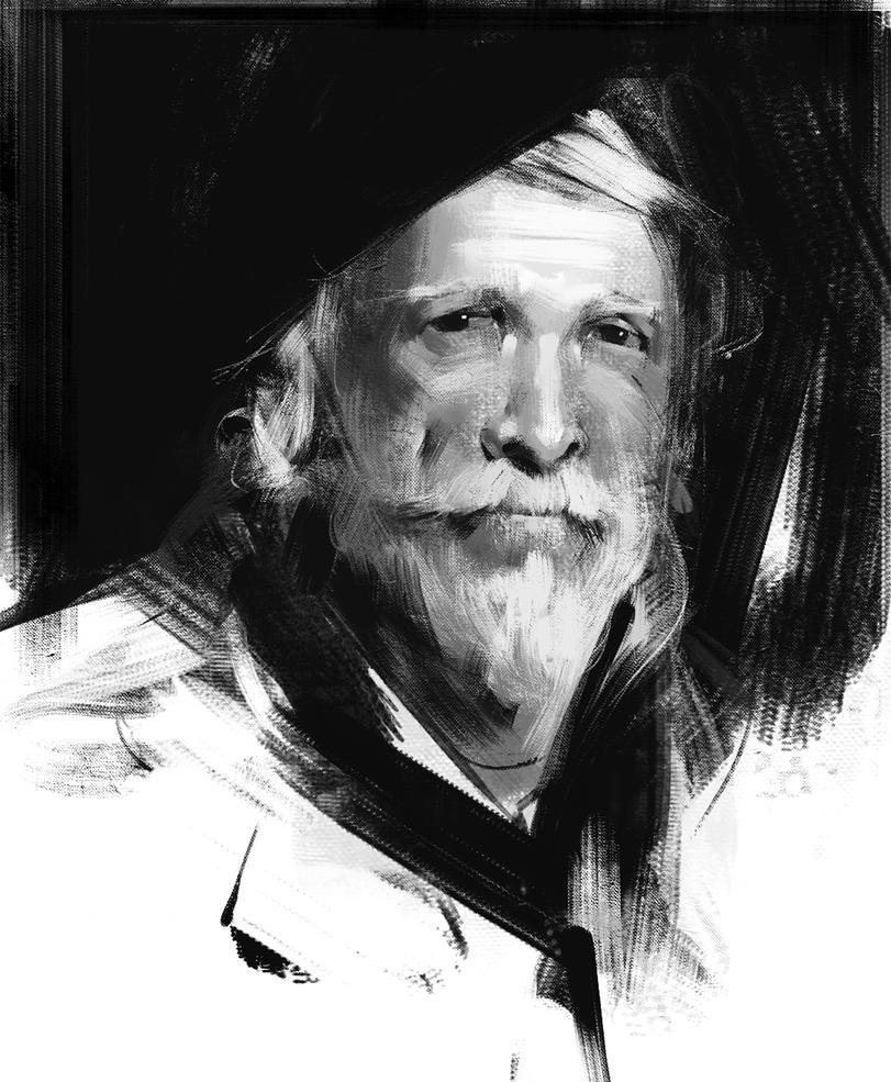 Old man by jamajurabaev