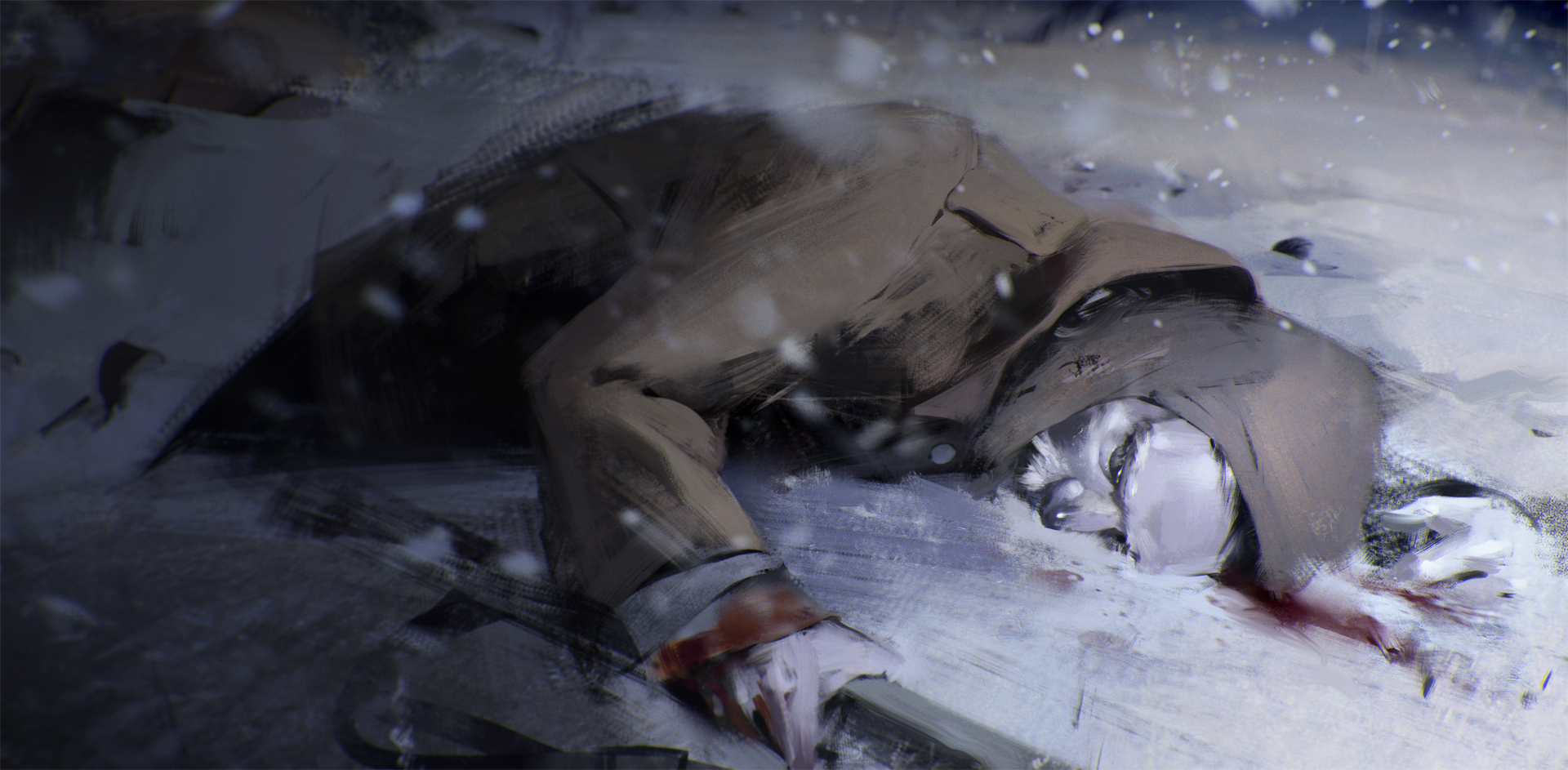 the soldier by jamajurabaev
