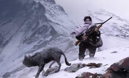 Hunter by jamajurabaev