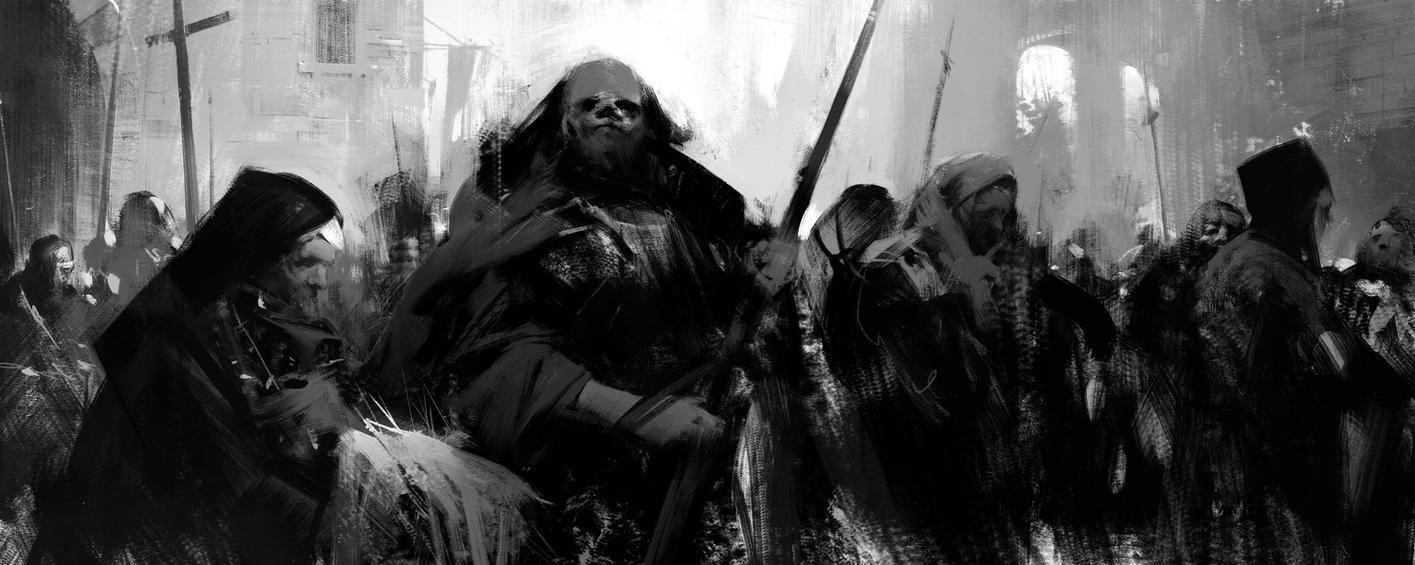 Dark Flock by jamajurabaev