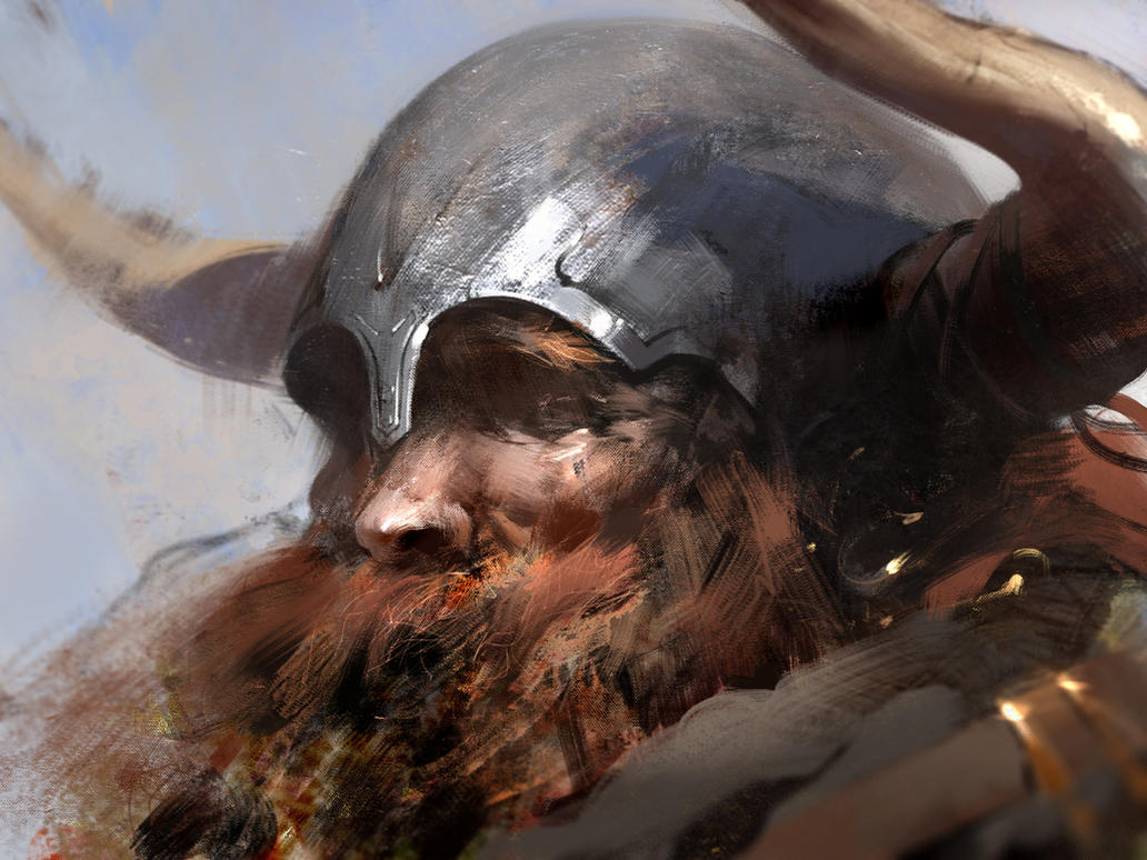 Old barbarian by jamajurabaev