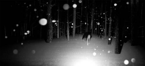 Fox - forest by jamajurabaev
