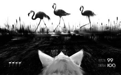 Fox - the hunter by jamajurabaev