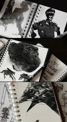 Digital ink brushes