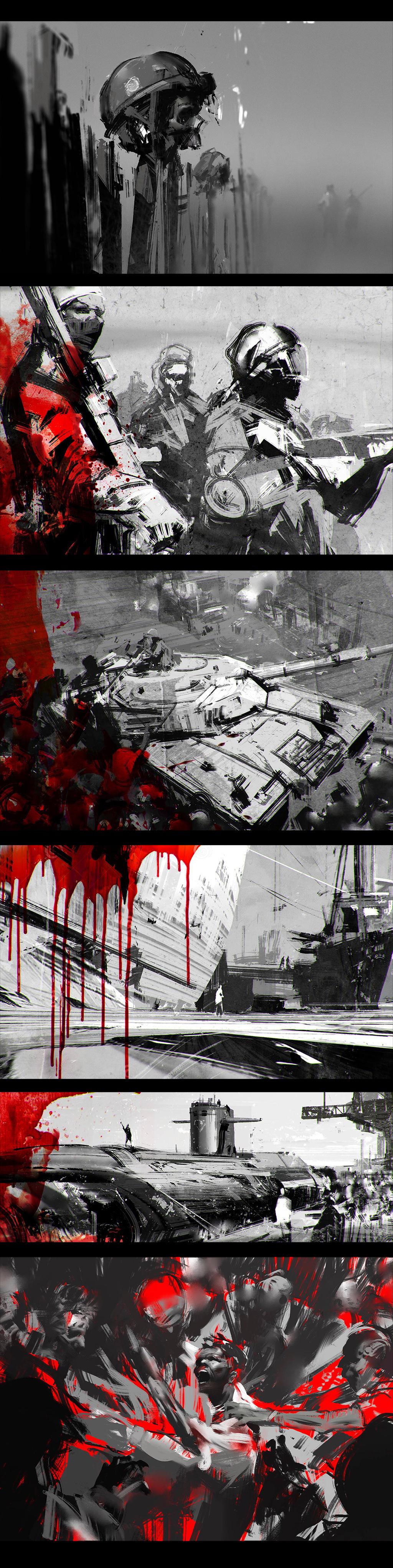 Zombies by jamajurabaev