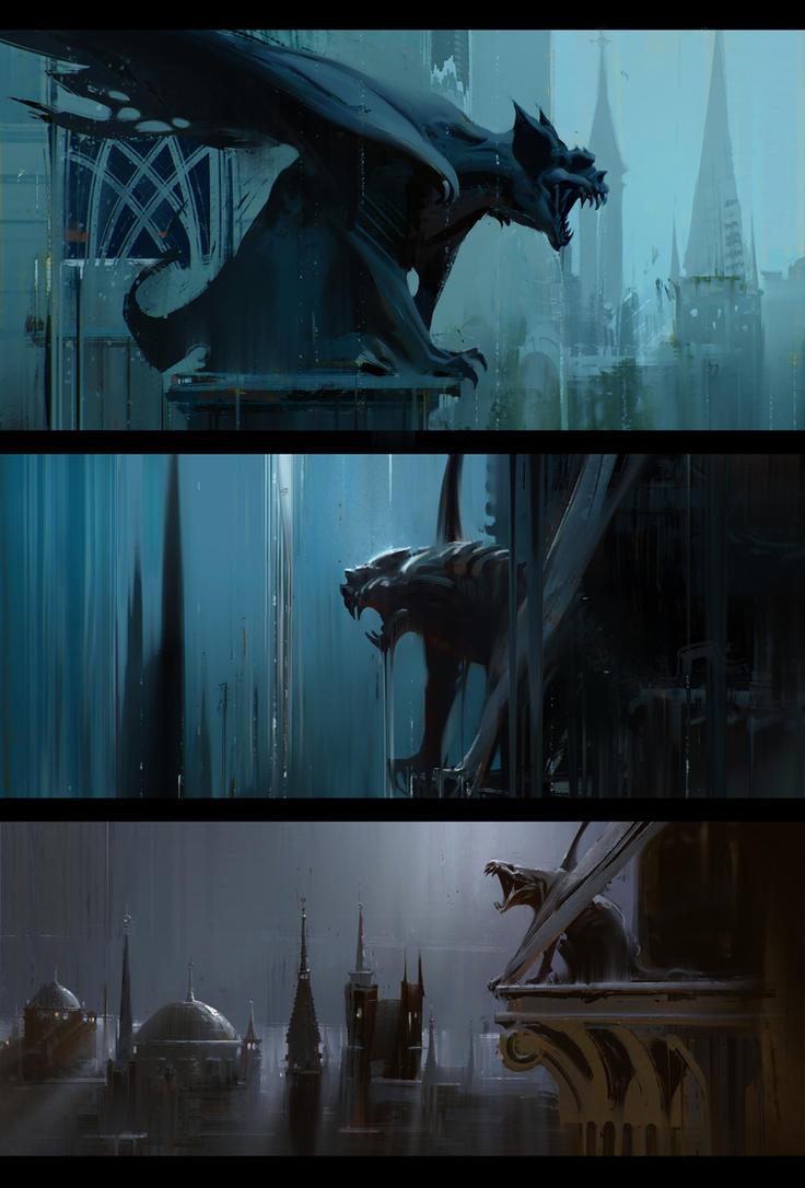 Gargoyles by jamajurabaev