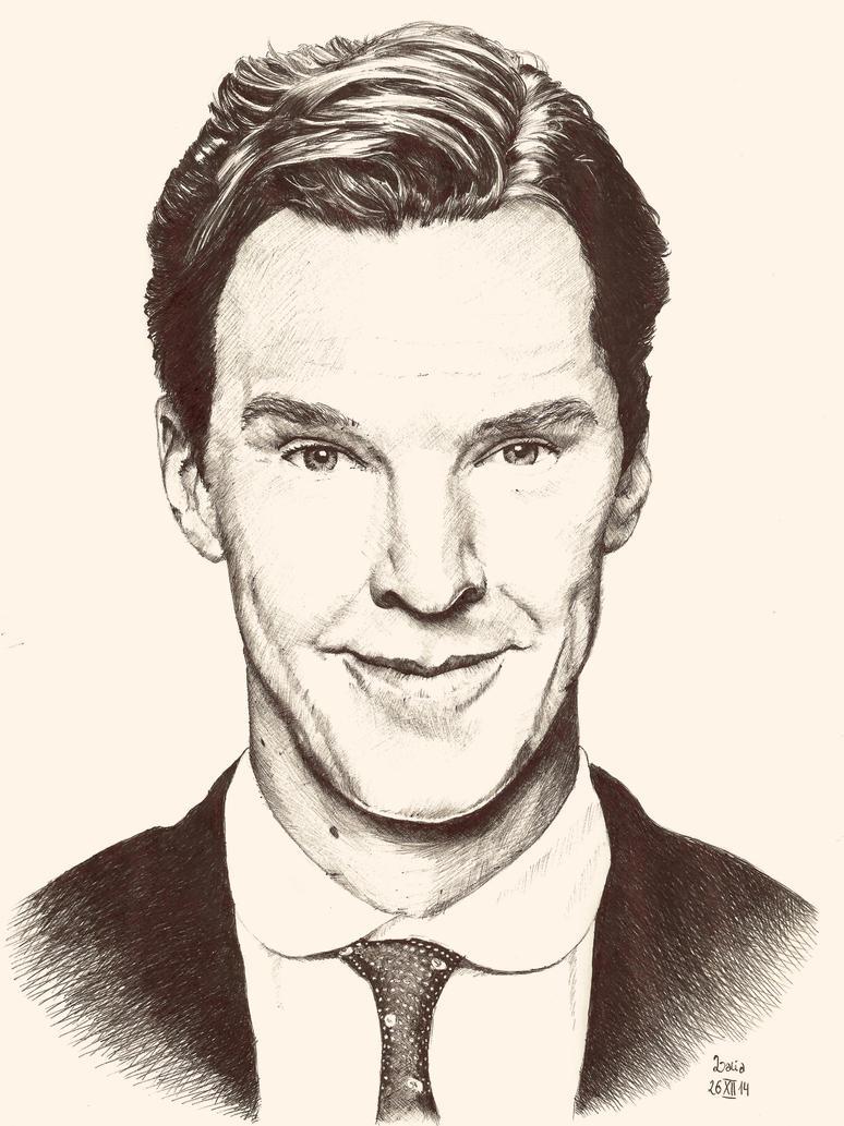 Benedict Cumberbatch by Eacheyx