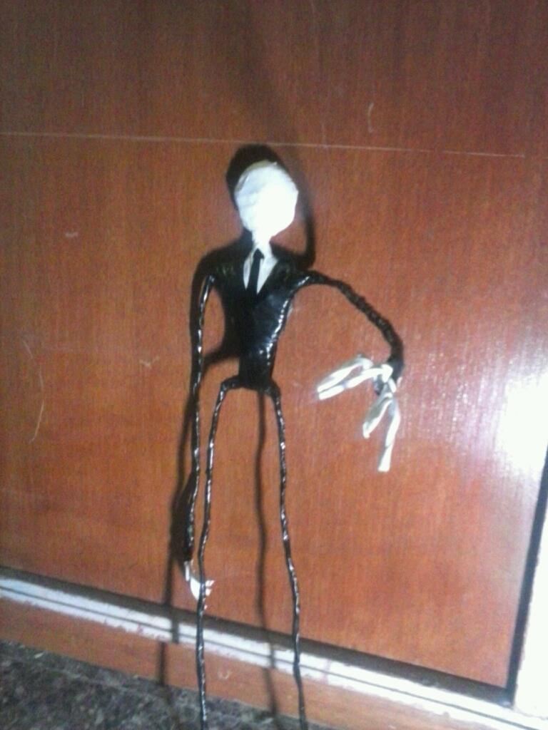 slenderman doll by deihime