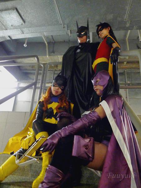 Batman Family by fuuyukida