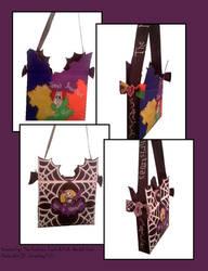 Ducktape Nightmare bag 2 by ohmeohmy0530