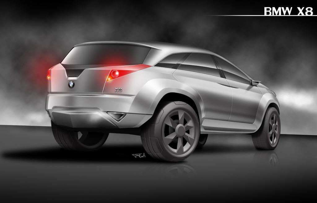 Bmw X8 Concept By Tomlindh On Deviantart