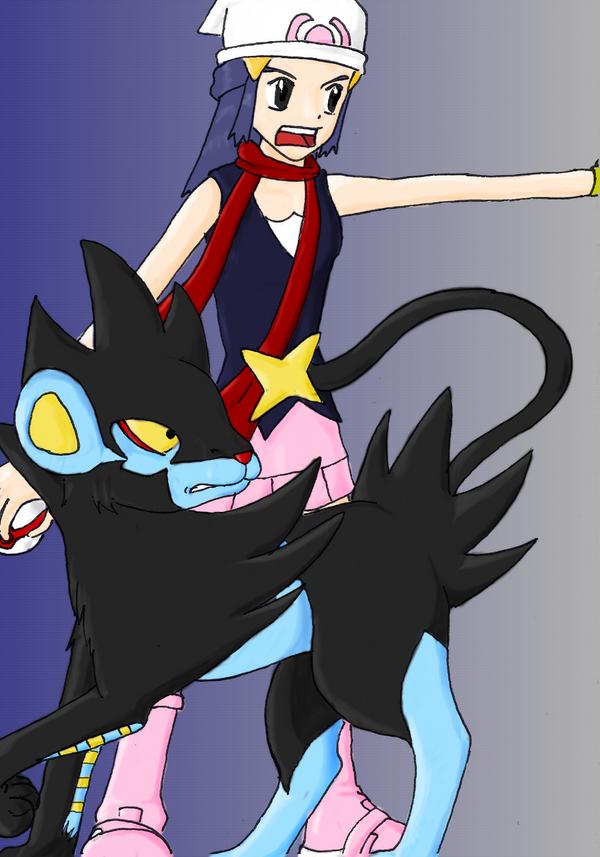 pokemon diamond how to get luxray