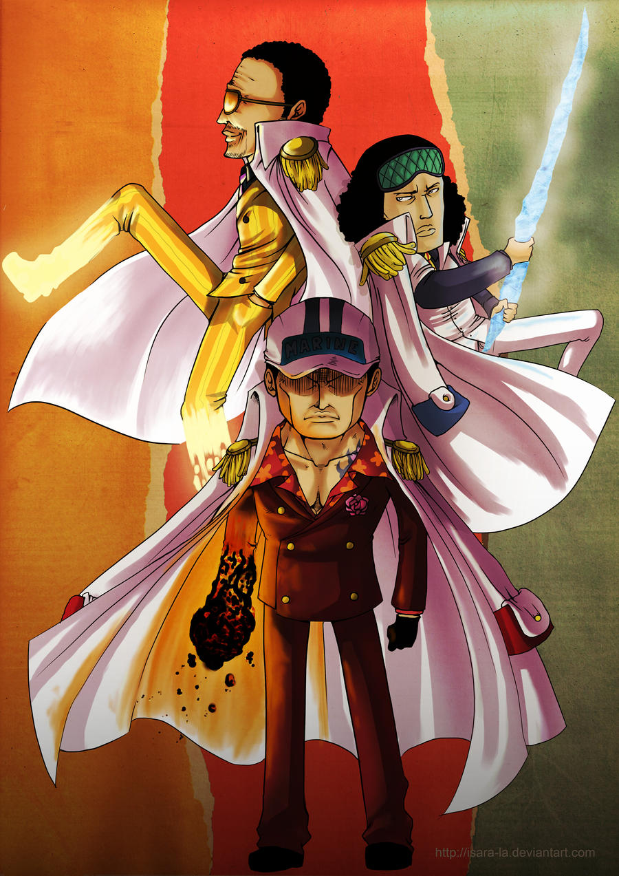 3 Admirals by Isara-La on DeviantArt