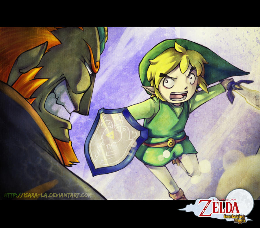 Contest entry - Link vs Ganondorf by Isara-La
