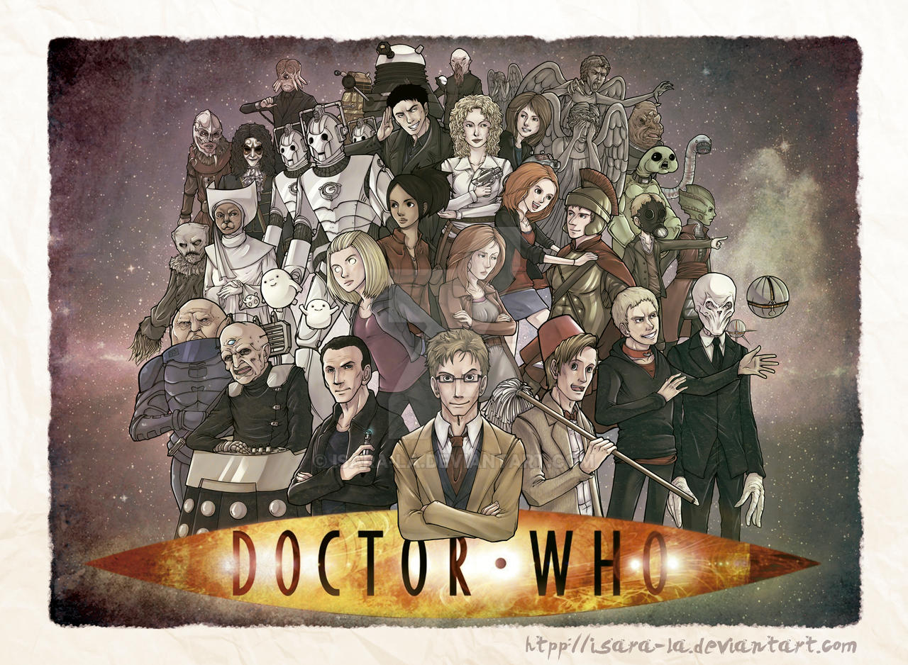 Doctor Who by Isara-La