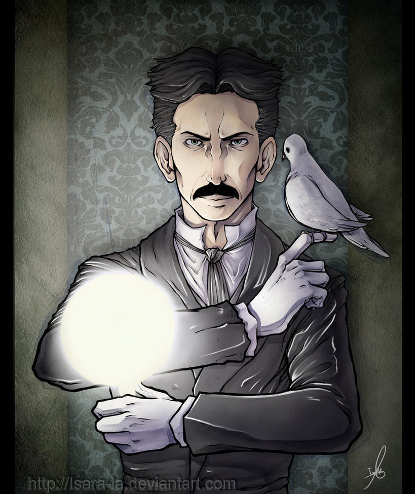 Nikola Tesla Wallpapers 35 Wallpapers: Nikola Tesla By Isara-La On DeviantArt