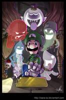 Hold on, Luigi by Isara-La
