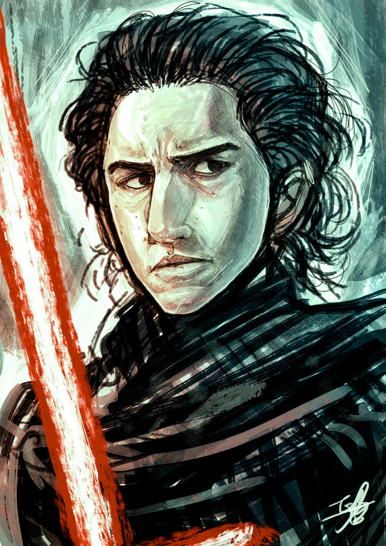Kylo Ren - Sketch by Isara-La