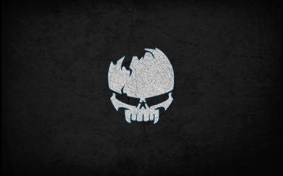 Skull Logo Wallpaper 1920x1200 by LordSprit
