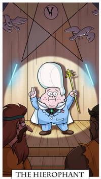 Gravity Falls Tarot - The Hierophant