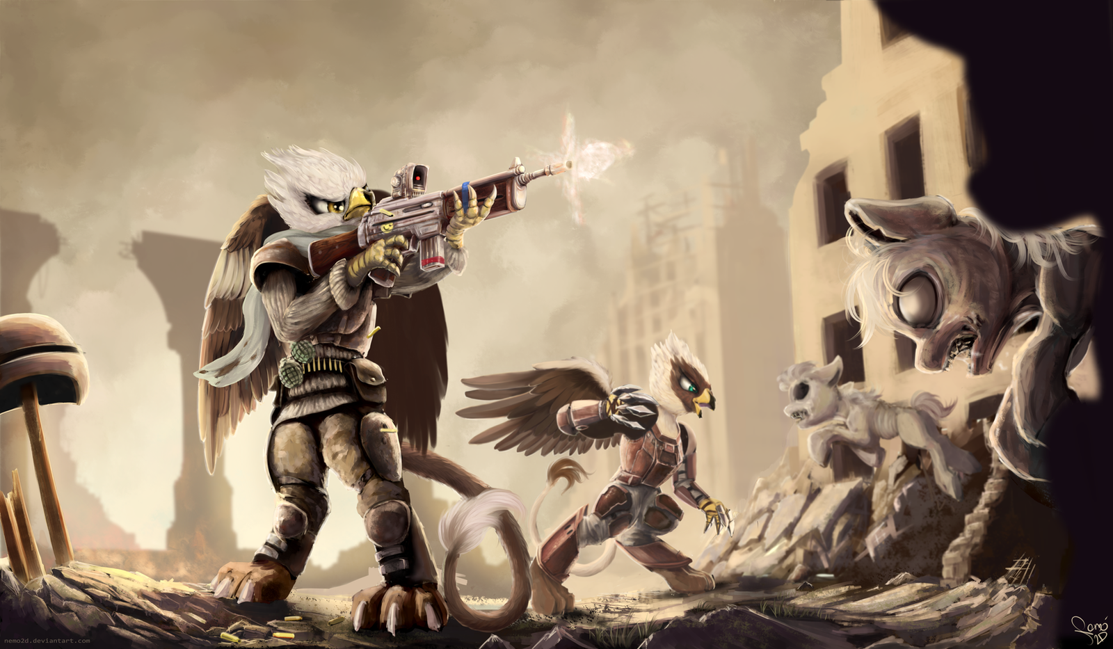Against The Horde by Nemo2D