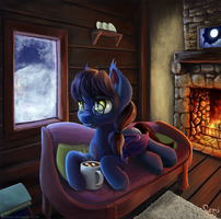 Winter Evening by Nemo2D