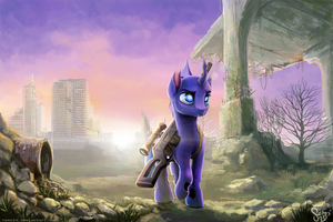 Through The Wasteland by Nemo2D