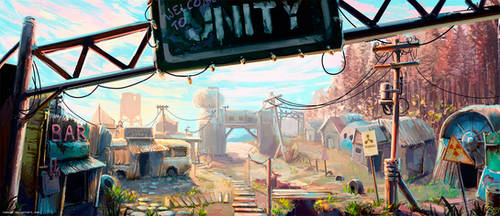 A Town Called Unity by Nemo2D