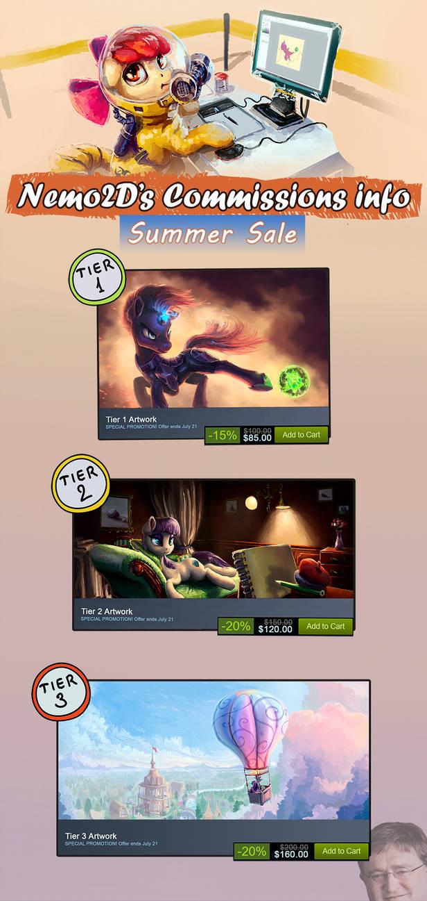 [SALE] Commissions Info by Nemo2D