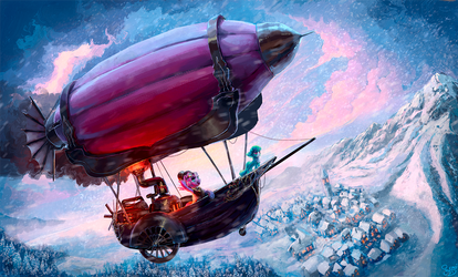Midwinter Flight by Nemo2D