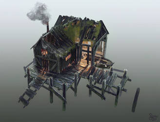 Old Fishing Shack by Nemo2D