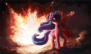 Cool Mares Don't Look At Explosions